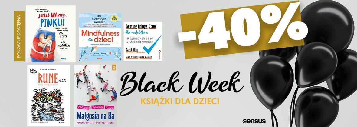 Promocja na ebooki #blackweek dla DZIECI!